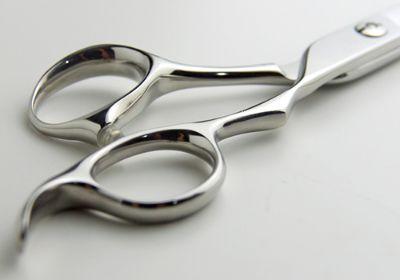 ハサミのハンドルの種類3D型ハンドル