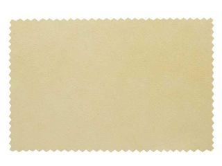ハサミの汚れを拭き取るセーム革