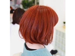 髪色カッパー系