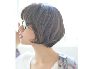 髪色アッシュグレー