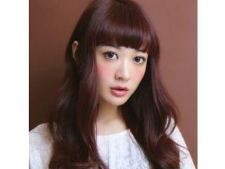 髪色ピンクバイオレット