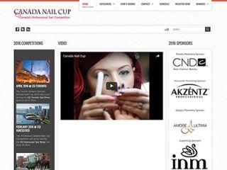 Canada Nail Cup公式サイト