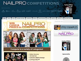 Nailpro Competitions公式サイト