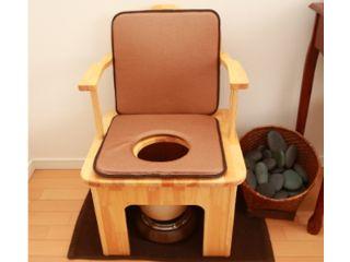 よもぎ蒸し専用の椅子