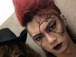 """金爆・喜矢武豊のV系メイクがワイルド美しい! """"X JAPAN・PATA""""なりきりメイクに「かっこよすぎでしょ!」と絶賛の声続出"""