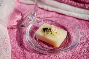 かわいい石鹸の画像