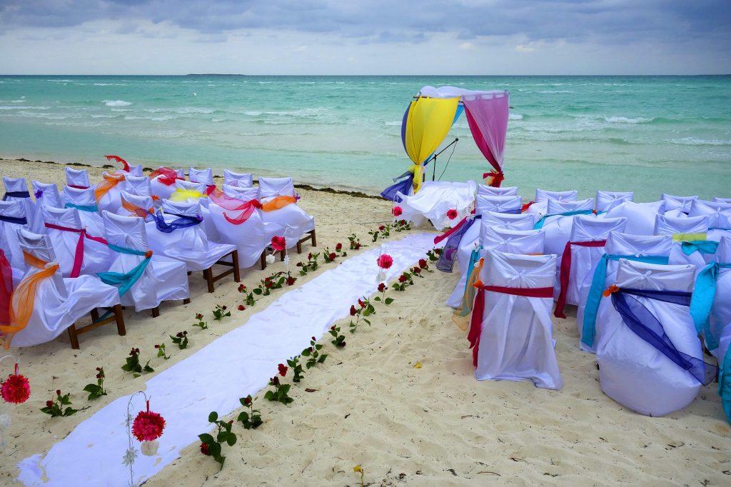 海辺の式場