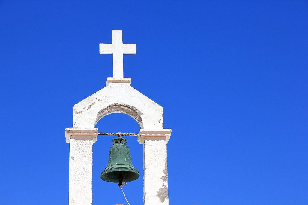 教会の鐘の画像