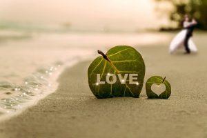 砂浜のオシャレな画像