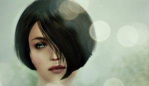 女性のイラスト画像