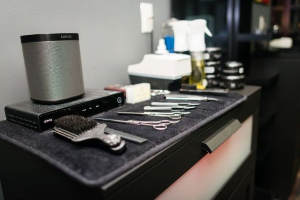 美容師の施術セット