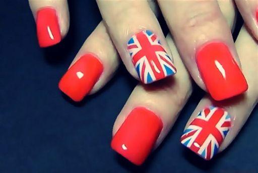 イギリス国旗ネイル