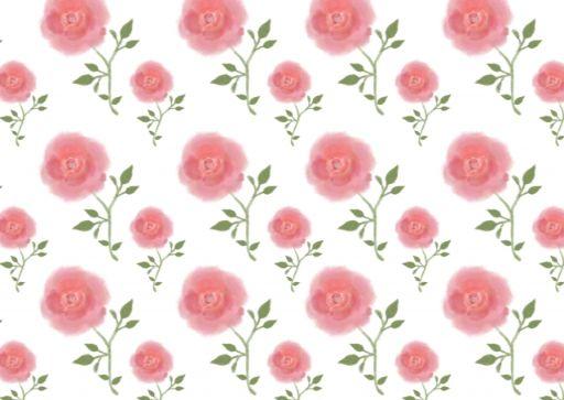バラ柄の背景