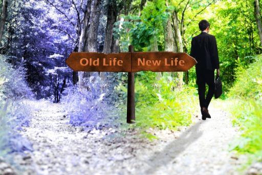 新しい生活との分かれ道