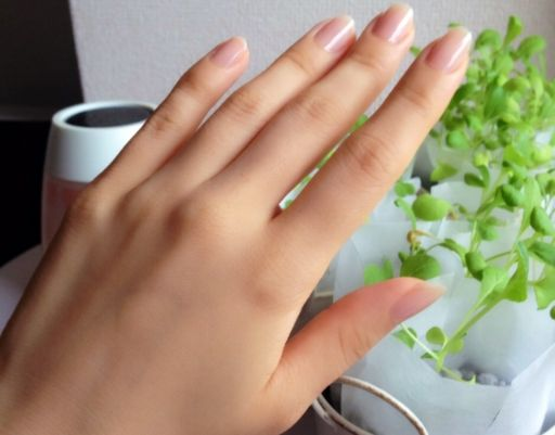 女性の美しい手