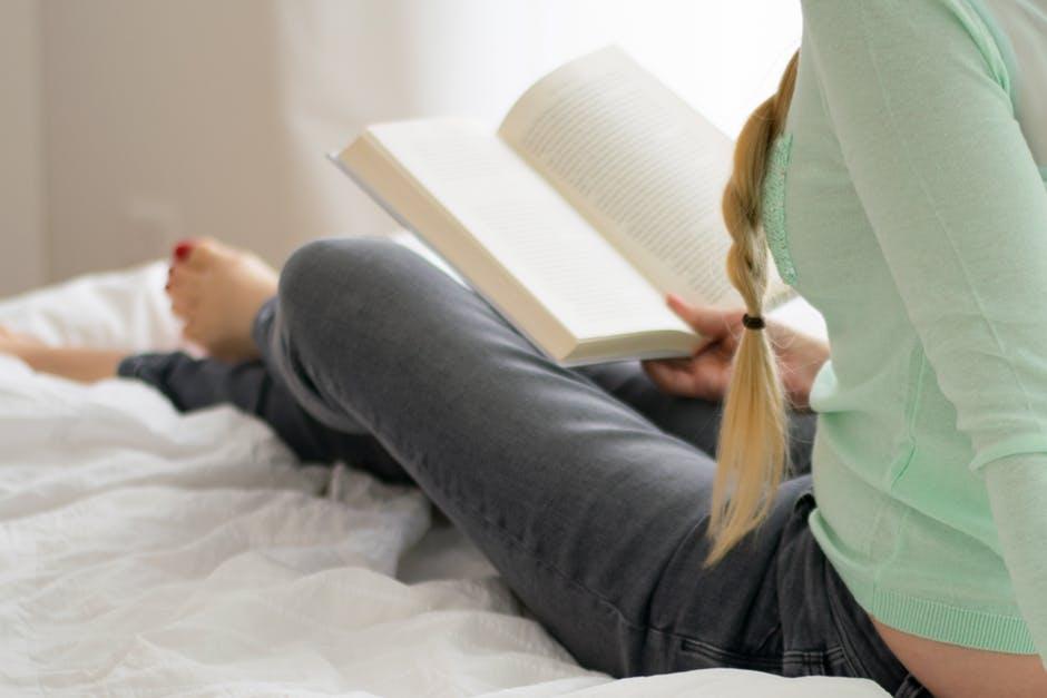 ベッドで読書