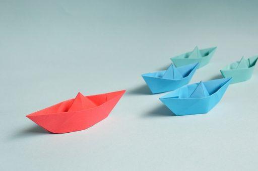 折り紙の船