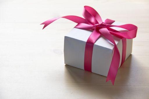 プレゼントの小箱
