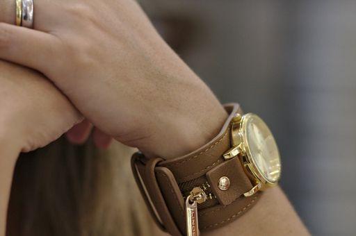 ブレスレット型腕時計