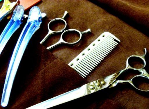 美容師の必需道具