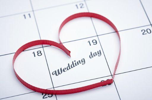 結婚式スケジュール