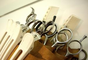 美容師の道具セット